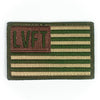 LVFT Flag Patch - Olive