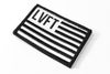 LVFT Flag Patch - Black / White