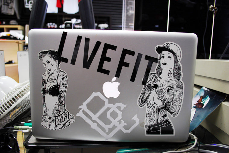 "5"" LIVE FIT. Decal - Live Fit Apparel - LVFT"