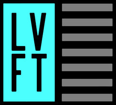 Live Fit Apparel LVFT Flag Sticker - Teal - LVFT