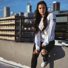 Athlete Long Sleeve- White
