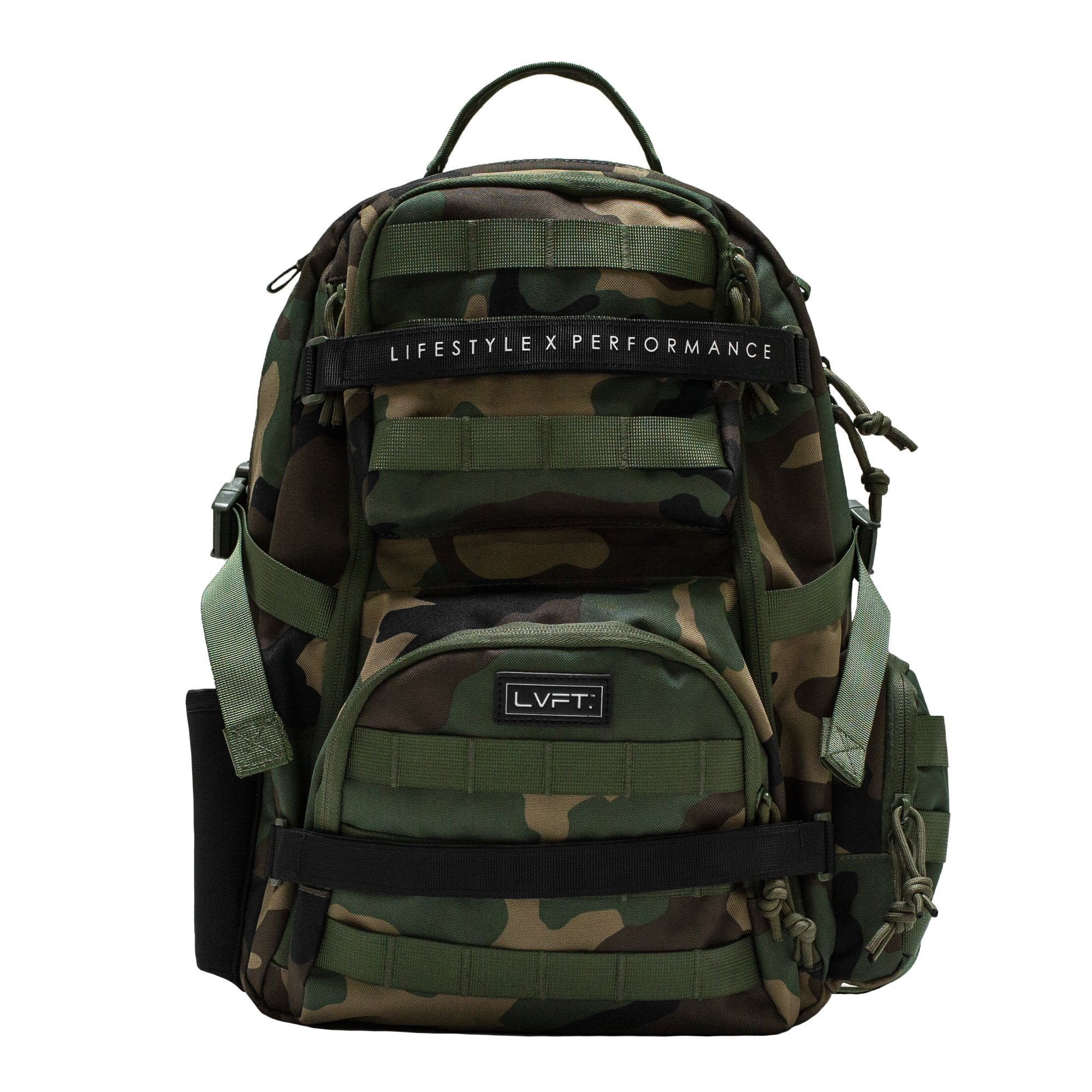 Tactical Backpack- Green Camo
