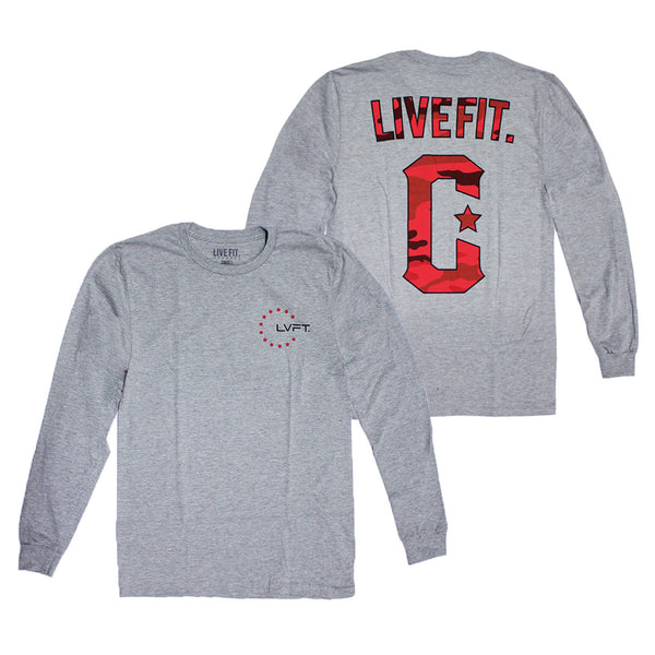 Militant Long Sleeve- Heather Grey