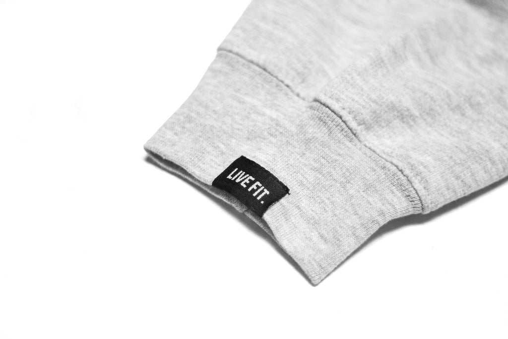 LF Crewneck - Heather Grey