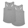 Routine Racerback Tank - Heather Grey