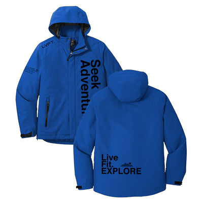 Explore Heavy Insulated Jacket - Blue