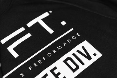 Live Fit Apparel Athlete Division Hoodie - Black - LVFT