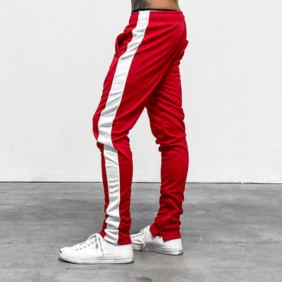Reflective LVFT. Slim Trackies - Red/White