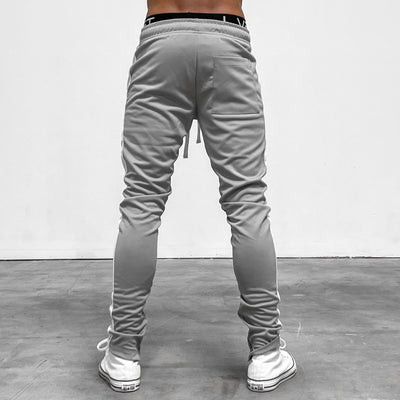 Reflective LVFT. Slim Trackies - Grey/White