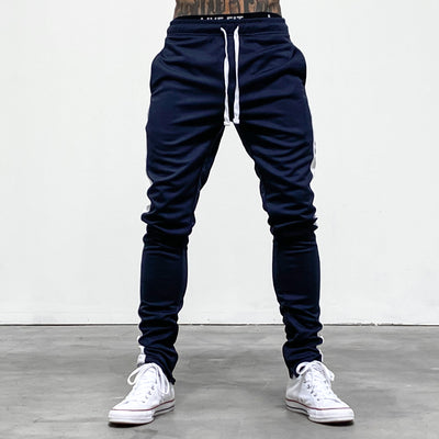 Slim Trackies - Navy/Black