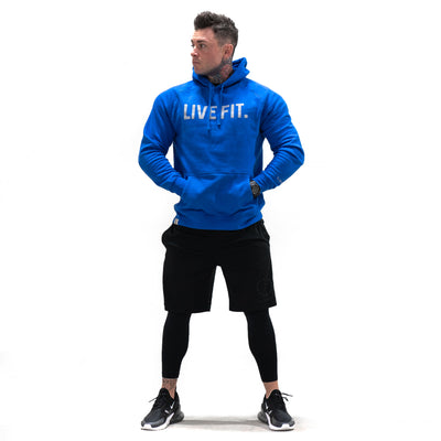 Live Fit Apparel Classic Live Fit Hoodie - Royal Blue - LVFT