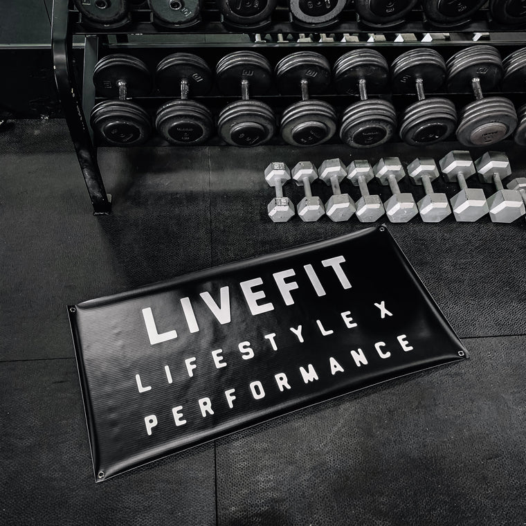 Live Fit Apparel Lifestyle X Performance Banner - LVFT