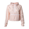 Camo Windbreaker - Blush