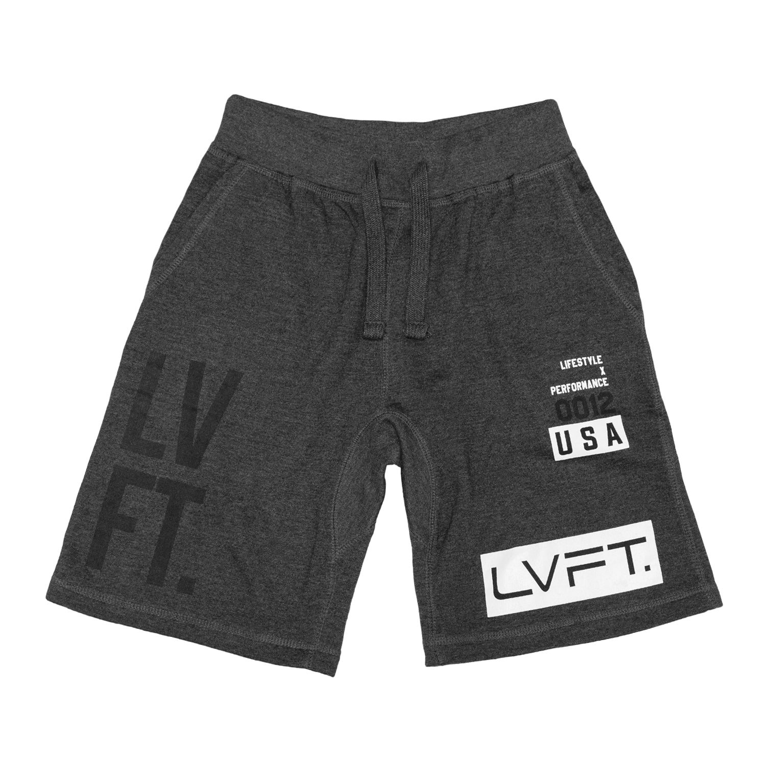 Stacked Shorts - Charcoal
