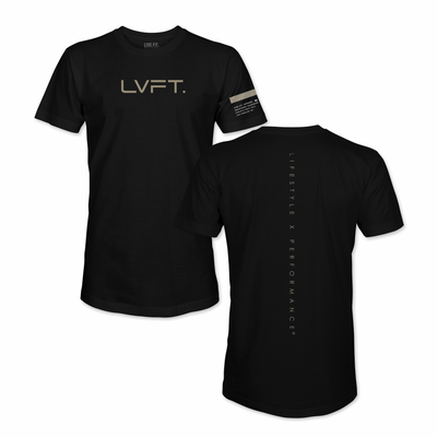 LxP Long Tees - Black