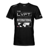 Live Fit Apparel International Tee - Black - LVFT