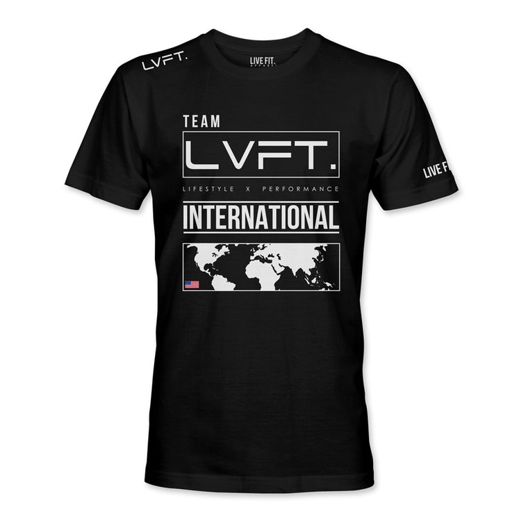 International Tee - Black