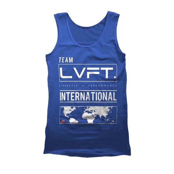 International Tank - Blue