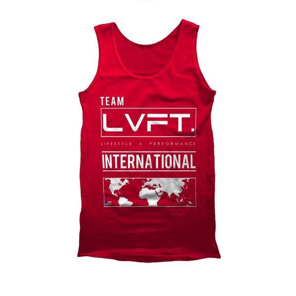 International Tank - Red