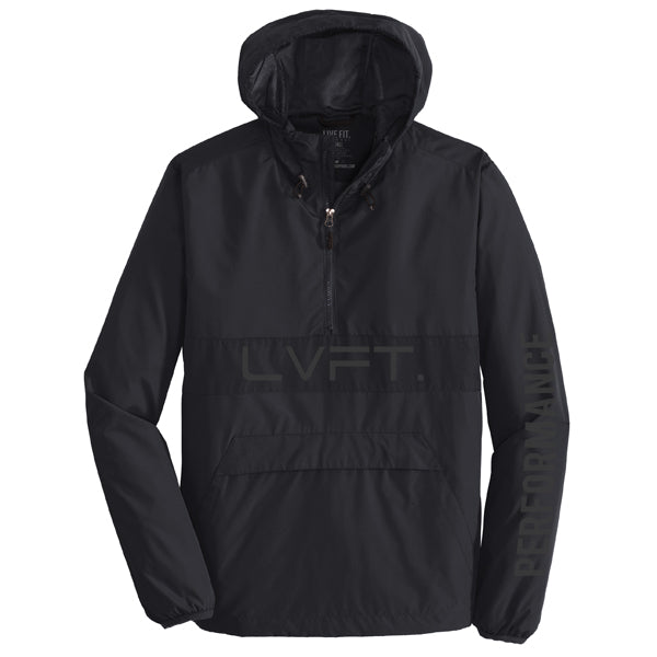 Icon Anorak Jacket- Black/Reflective