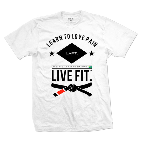 Live Fit Jiu Jitsu- White