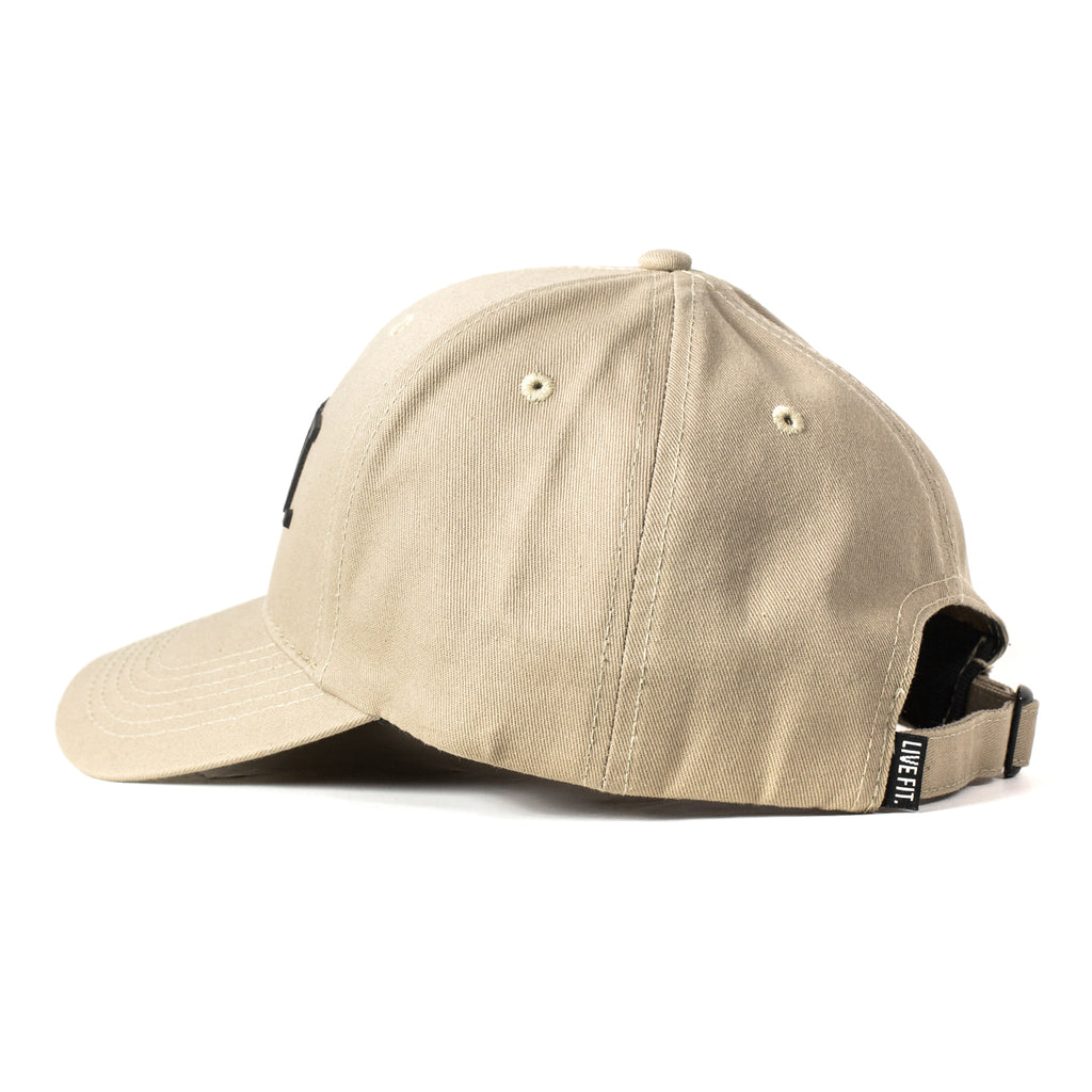 Original Premium Structured Cap -  Tan/Black