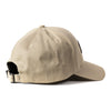 Live Fit Apparel Original Premium Structured Cap -  Tan/White - LVFT