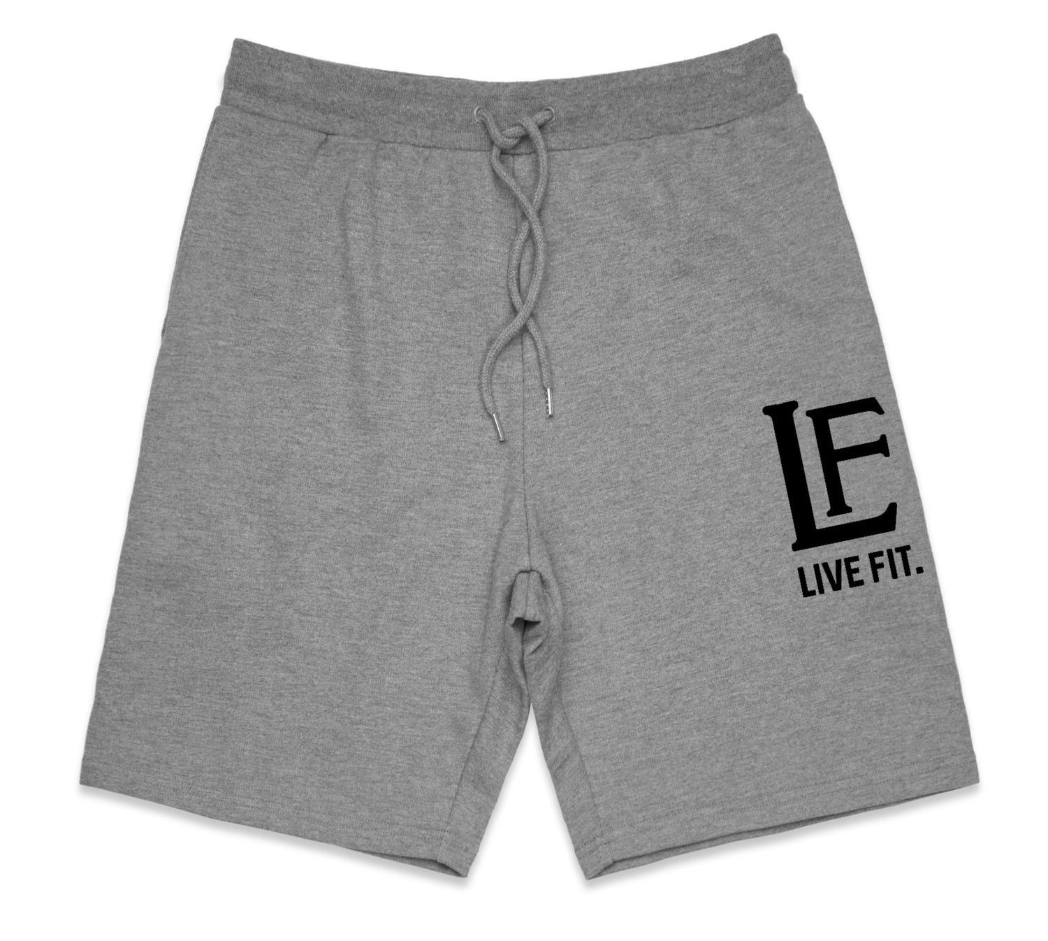 Live Fit Apparel LF Shorts - Heather Grey - LVFT