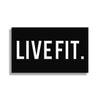"LIVE FIT PVC Patch - 2"" x 3"""