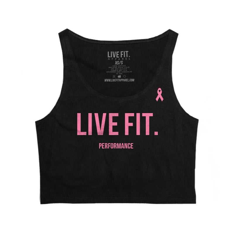 BCAM LIVE FIT Performance Crop Top