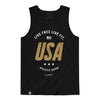 Live Fit Apparel Live Free Tank - Black - LVFT