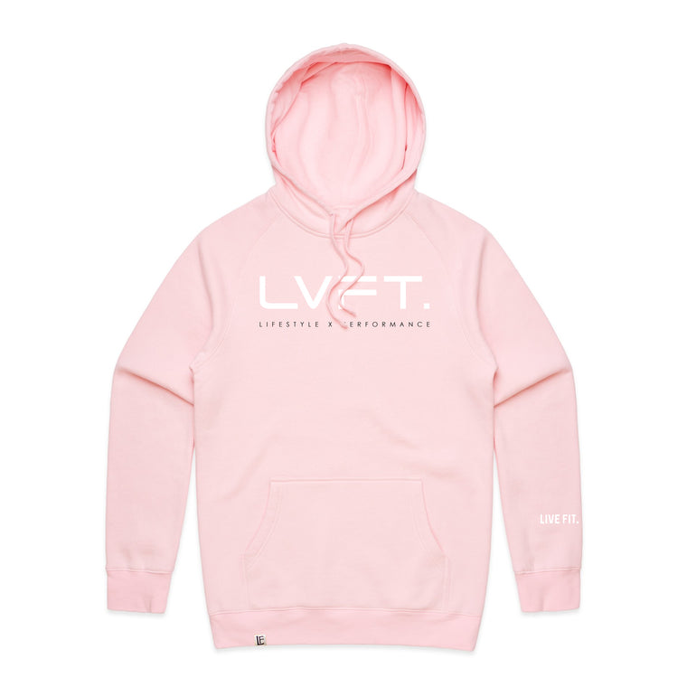Lifestyle Hoodie - Pink / White