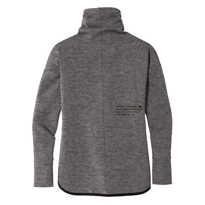 Live Fit Apparel Ladies Stealth Pullover - Grey - LVFT