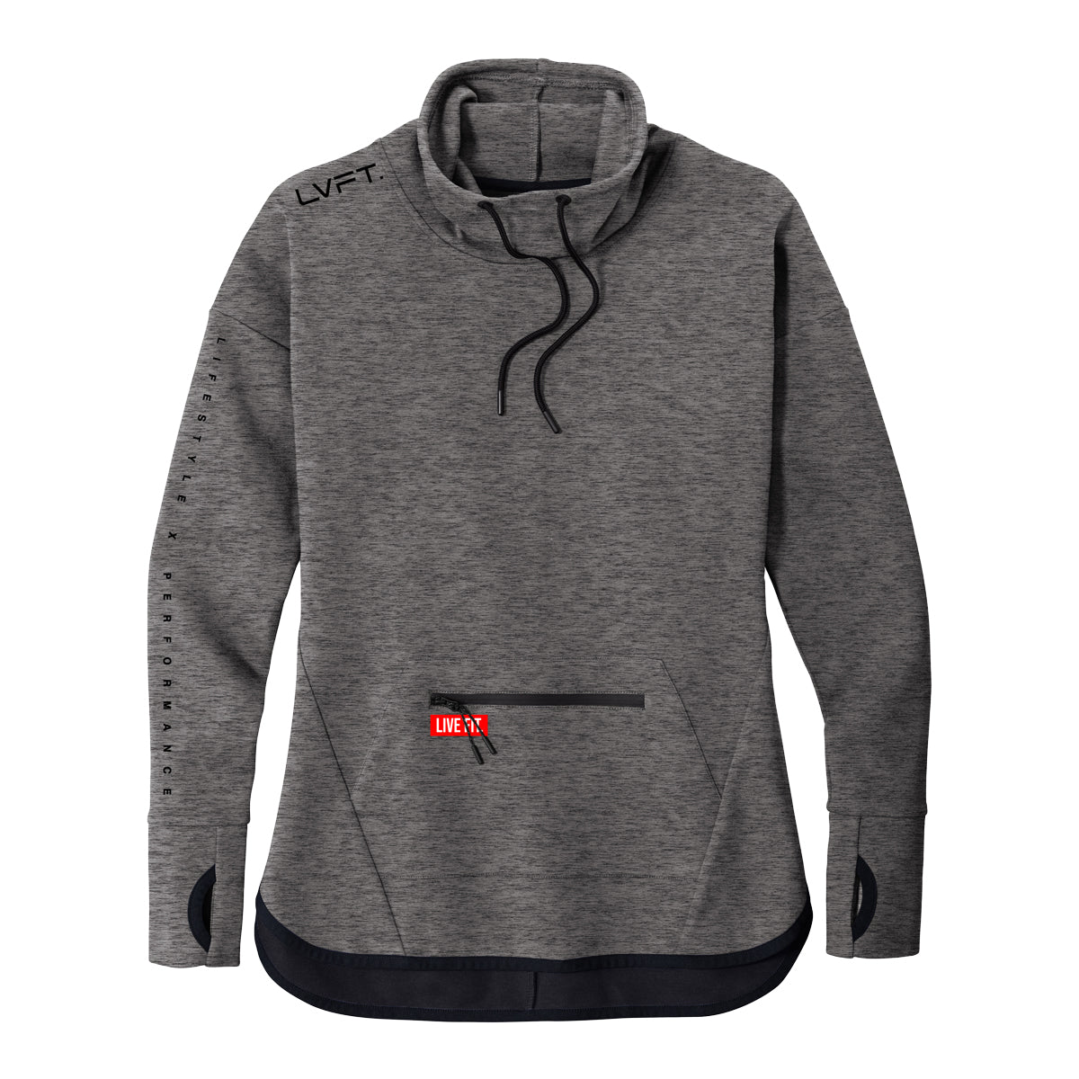 Ladies Stealth Pullover - Grey