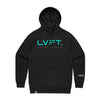 Live Fit Apparel Lifestyle Hoodie - Black / Teal - LVFT