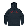 Live Fit Apparel Lifestyle Hoodie - Navy / Red - LVFT
