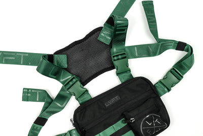 Tactical Chest Rig - Black / Green