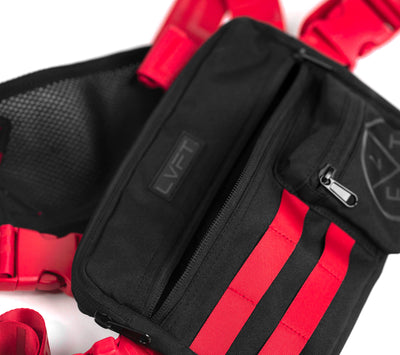 Tactical Chest Rig - Red