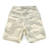 EXO Tan Camo Shorts - Biker Length (long)