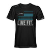LVFT Flag tee - Black/Teal