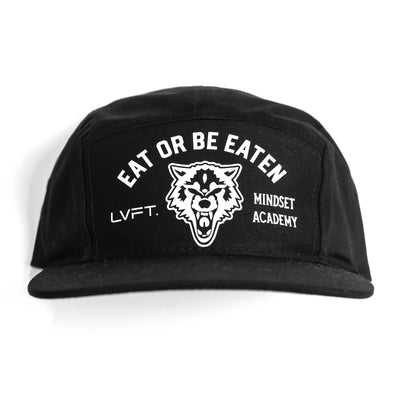 Mindset Academy 5 panel Cap - Black