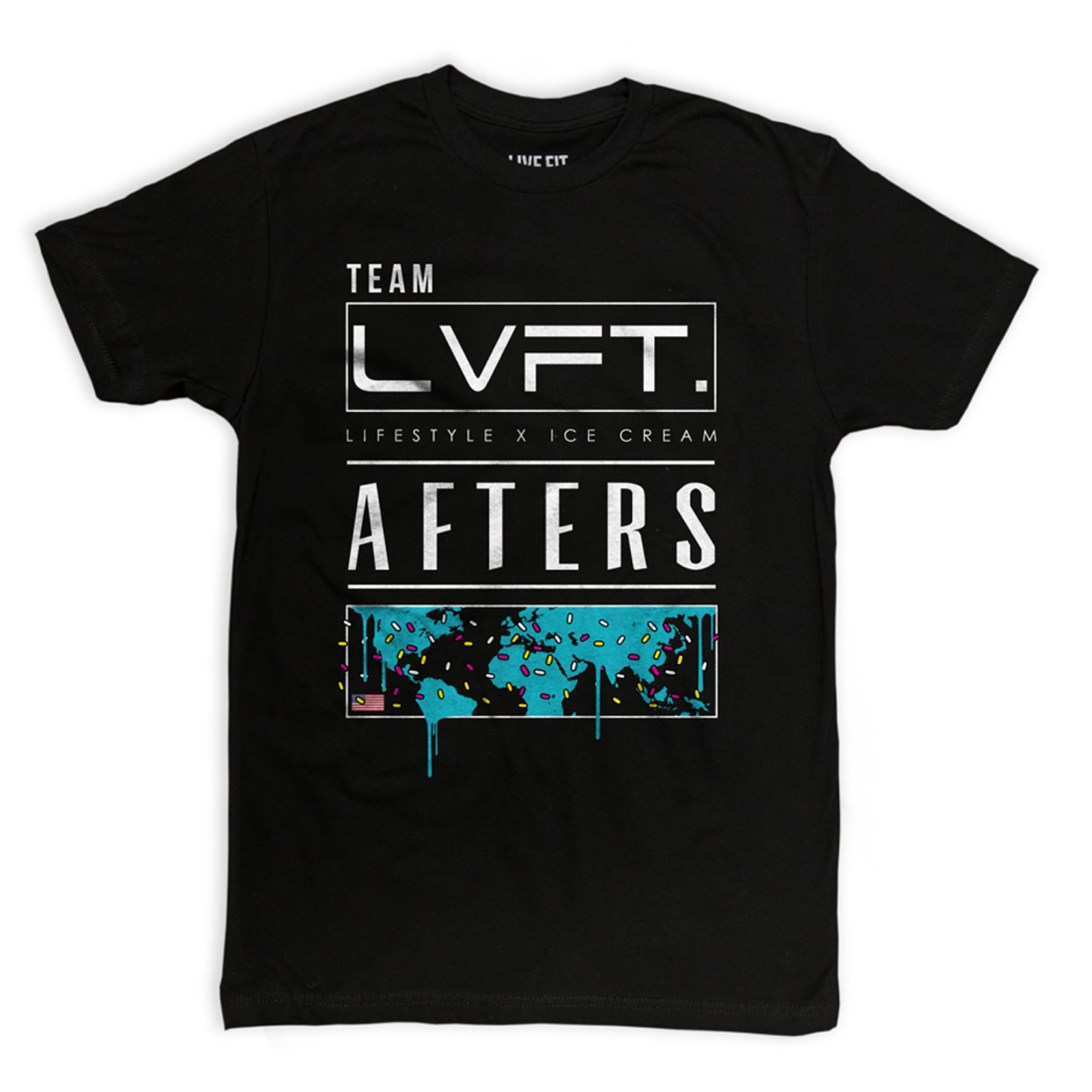 LVFT X AFTERS INTERNATIONAL TEE