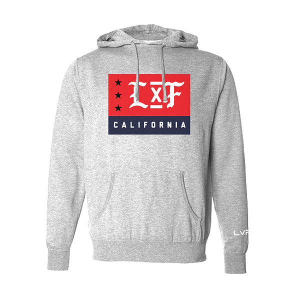 LXF Hoodie- Heather Grey