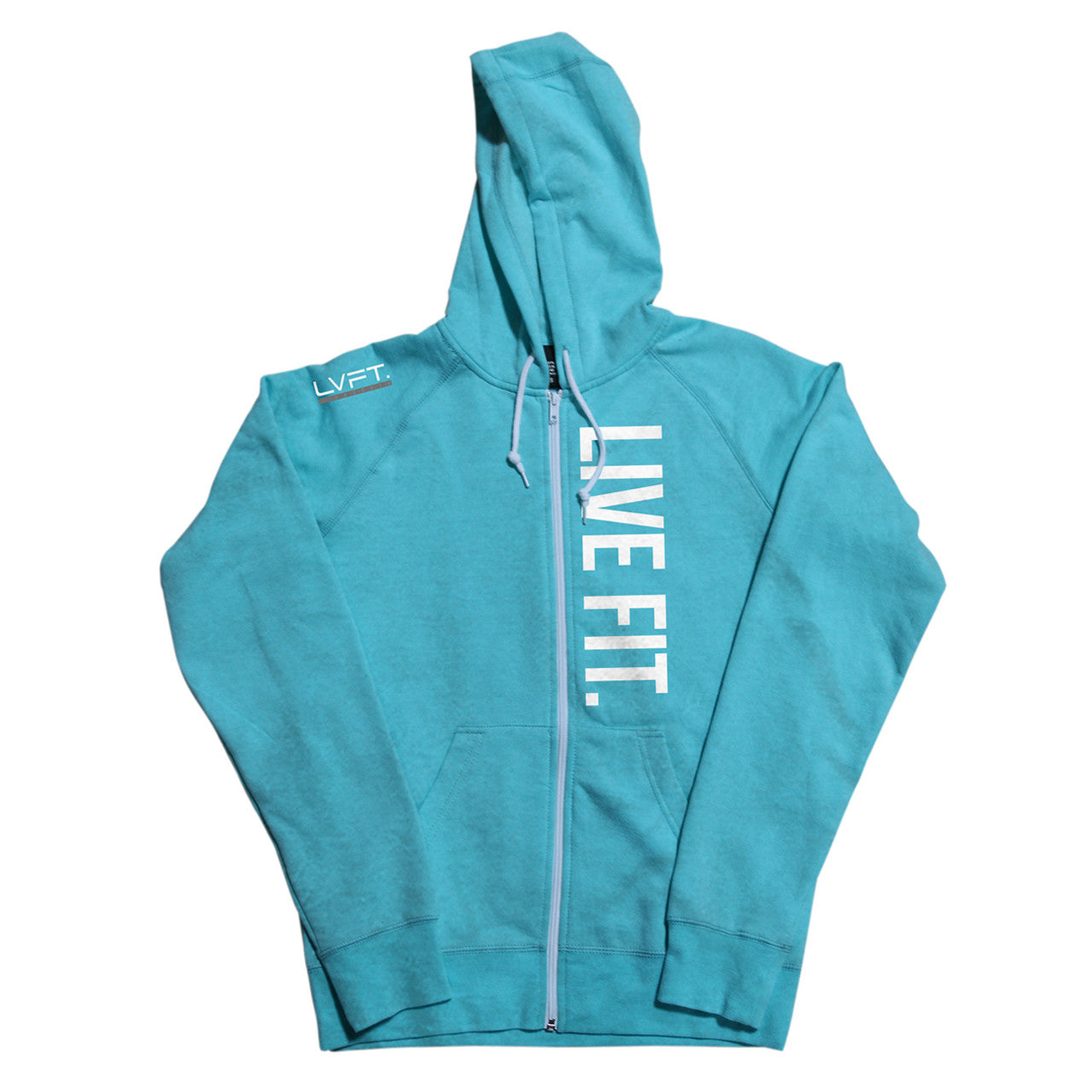 Live Fit Zip Up - Teal
