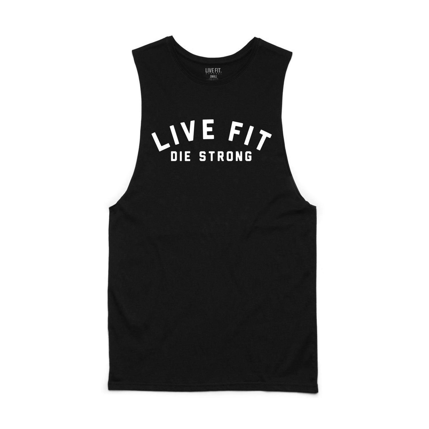 Die Strong Long Cut Off- Black