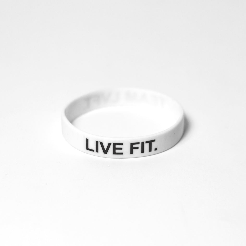 Live Fit. Band - White