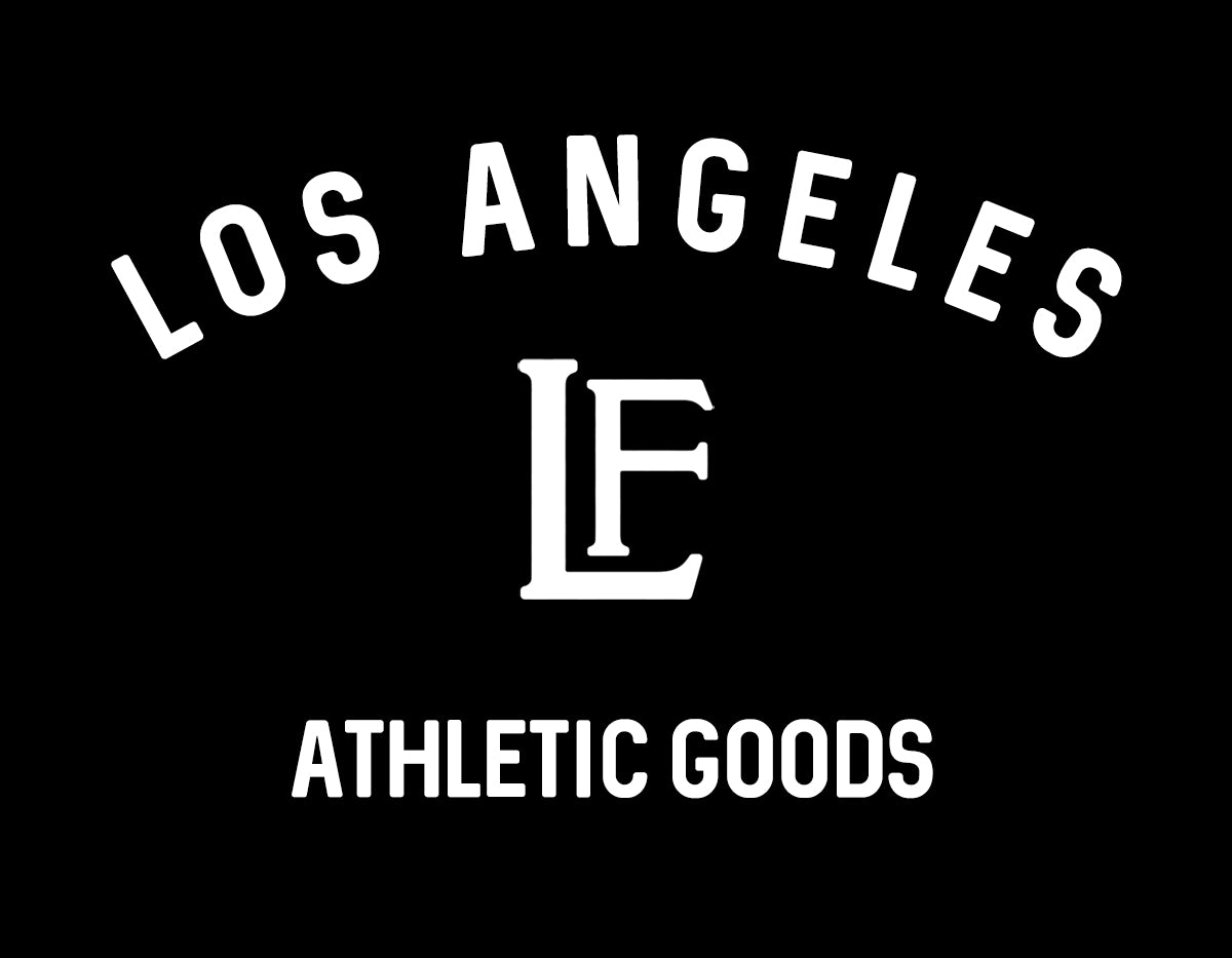 Los Angeles Sticker - Black