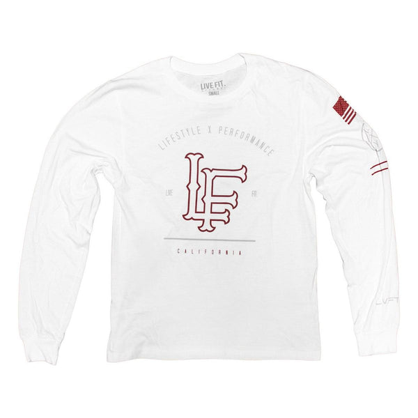 california long sleeve white