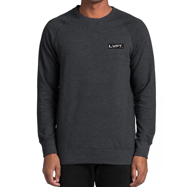 Modern Crewneck- Asphalt Heather