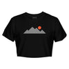 Women's Mountain Tee - Black/White